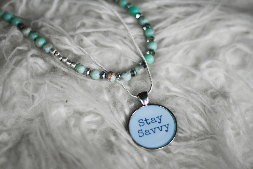 Stay Savvy Pendant Necklace