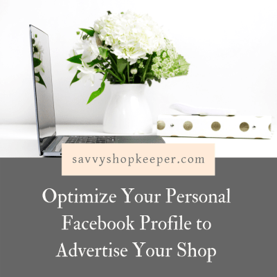 Optimize Facebook Profile ShopOwners