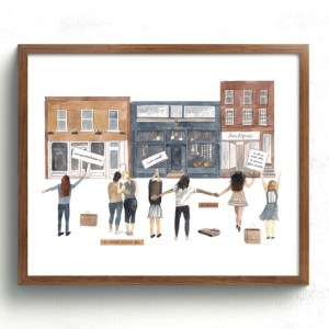 Savvy Shopkeepers Community Art Print