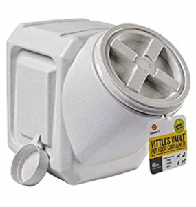 Amazon: Vittles Vault 40 Lb Airtight Pet Food Storage Container Just $18  Shipped!