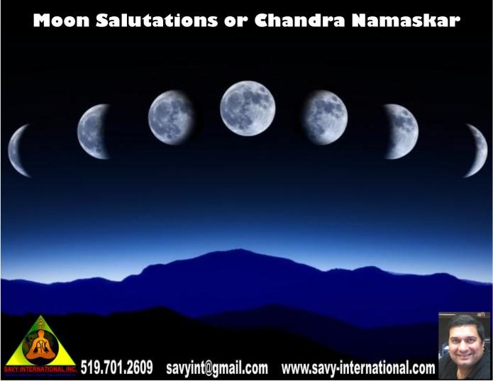 Moon Salutations or Chandra Namaskar