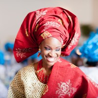 Colourful & Happy Days! Yemisi and Tosin's Yoruba Traditional Engagement & White Wedding In Texas