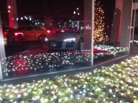 広島アウディのクリスマスイルミネーションが綺麗、そしてカッコイイ