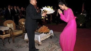 Photo of انجلينا تروج لفيلمها الجديد في كمبوديا  / صور