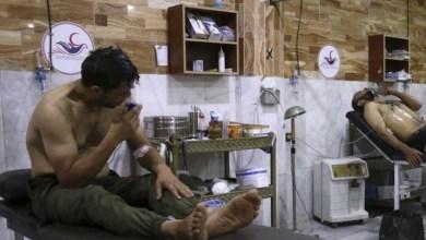 Photo of حالات اختناق إثر هجوم للنظام بغاز سام في دمشق
