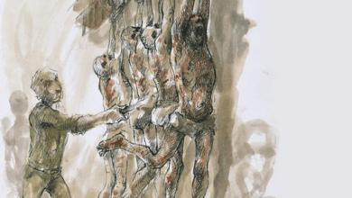 Photo of لوحات صادمة لفنان سوري.. هذا ما يحدث في سجون الأسد / صور