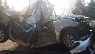 Photo of وفاتان وإصابة بحادث تدهور في المدينة الرياضية / صور