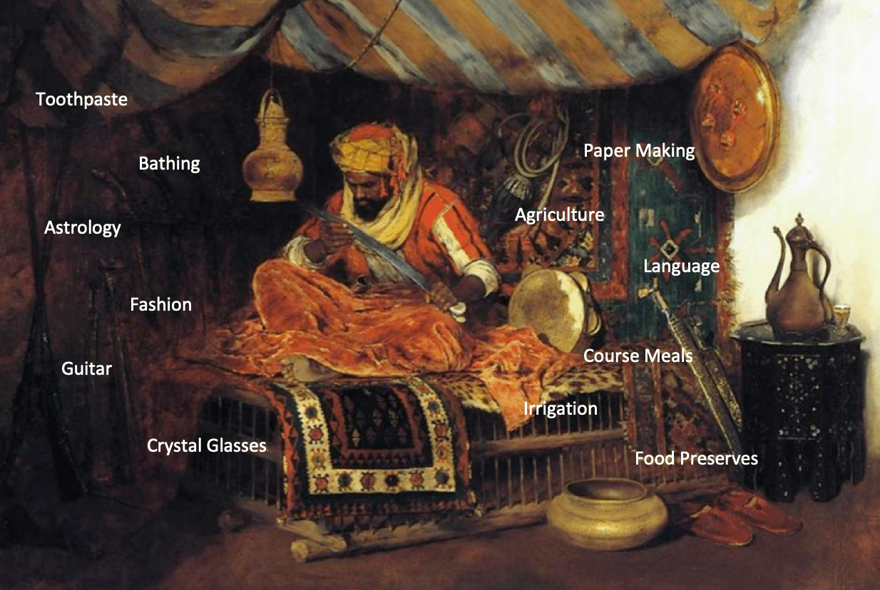 Moorish Influences on Early European Society During the 800