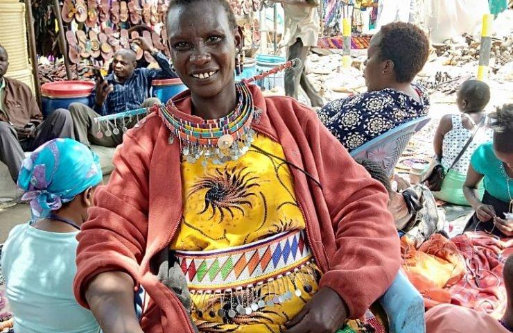 sawa sawa collection, Maasai woman