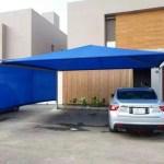 أنواع مظلات سيارات في الرياض