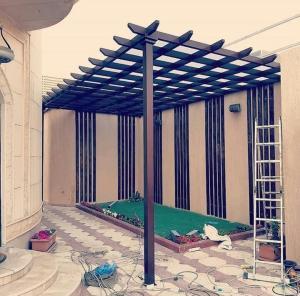 ديكور مظلات حدائق الرياض   معرض التخصصي