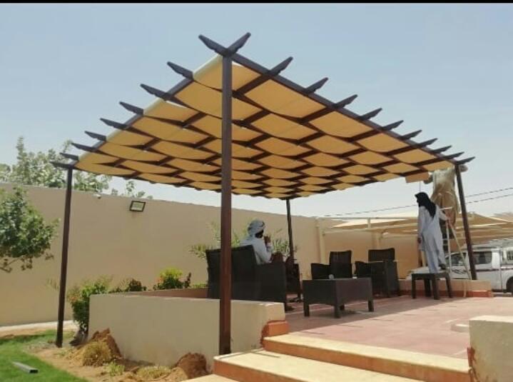 حداد مظلات حداد سواتر | تركيب مظلات وسواتر الرياض