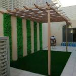 ديكور مظلات حدائق الرياض