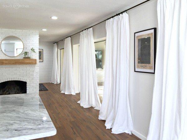 cheap white curtains quick cheap