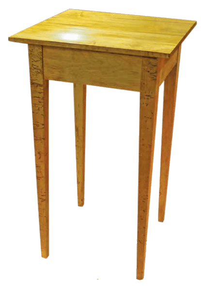 Wormy Side Table