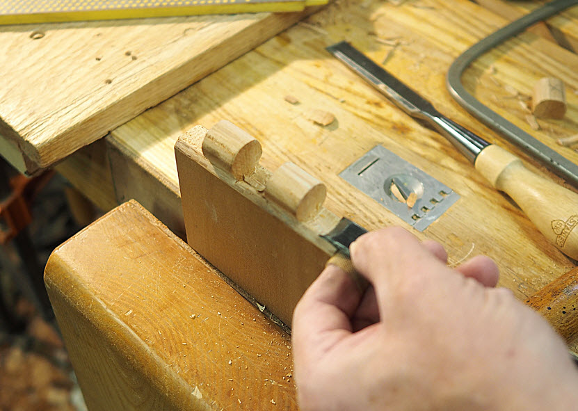 Making a Knuckle Joint
