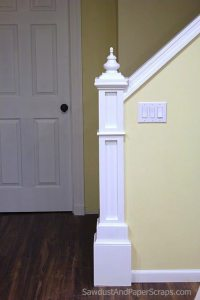 building a newel post