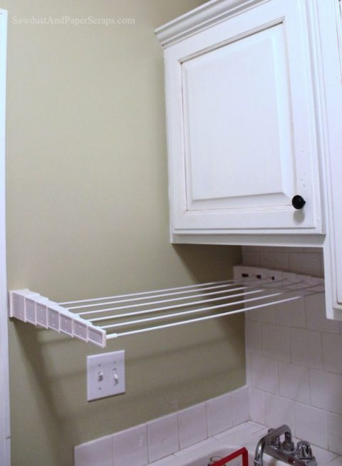 Pull out Drying rack