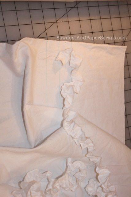 Ruffled grocery bag tutorial 10