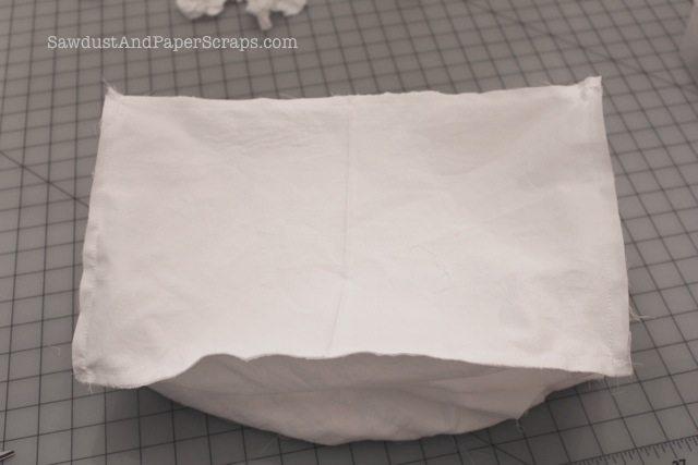 Ruffled grocery bag tutorial 13