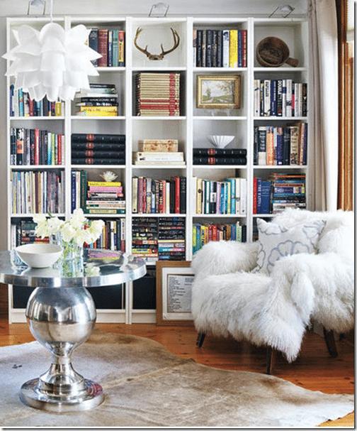 How to style beautiful bookshelves