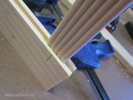 Using Rockler's Beadlock mortise and tennons