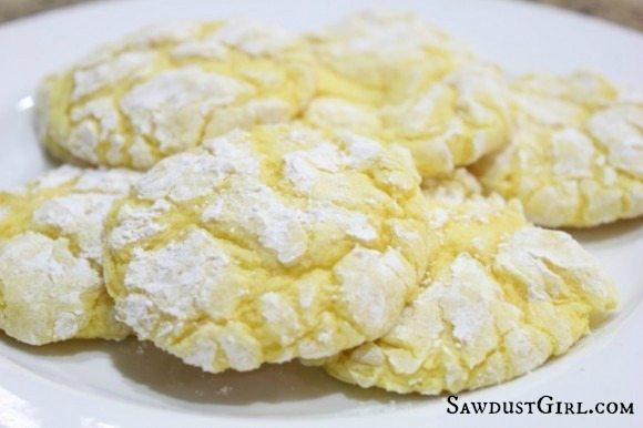 Easy lemon drop cookie recipe
