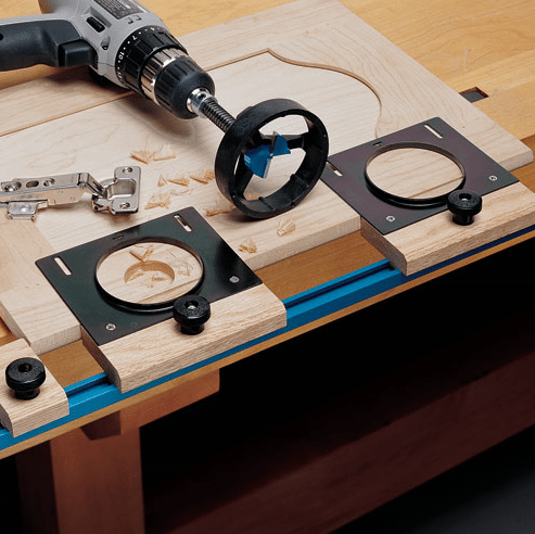 Jig It for concealed hinges