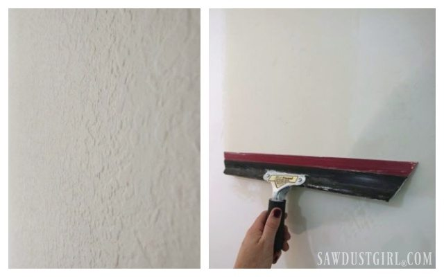 How to Skim Coat to get rid of Wall Texture
