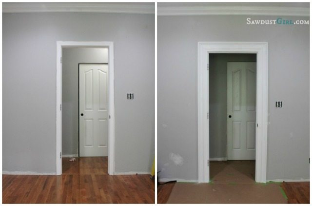 Create awesome door and window trim molding by layering!
