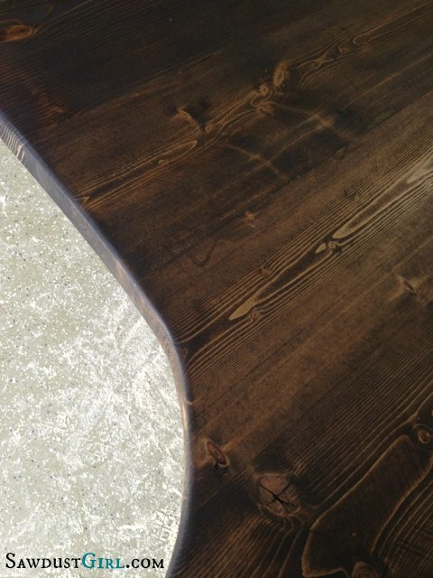 Easy DIY wood countertops are the cheapest countertops EVER.
