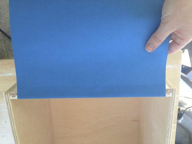 blue file folders