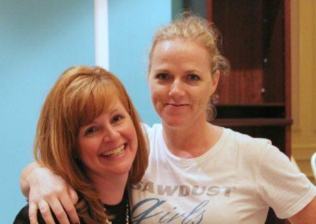 Sandra and Kelly