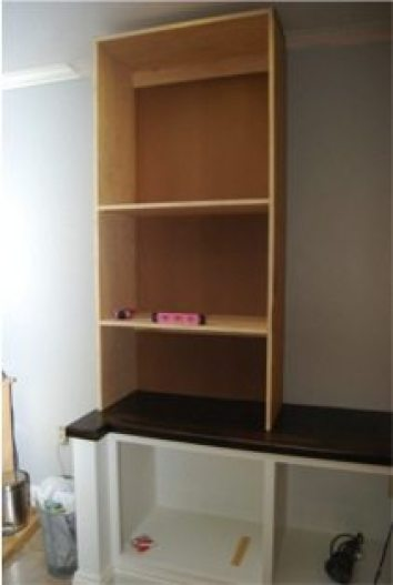 Building an office bookcase