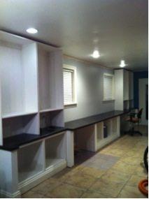 Cara's office built-ins