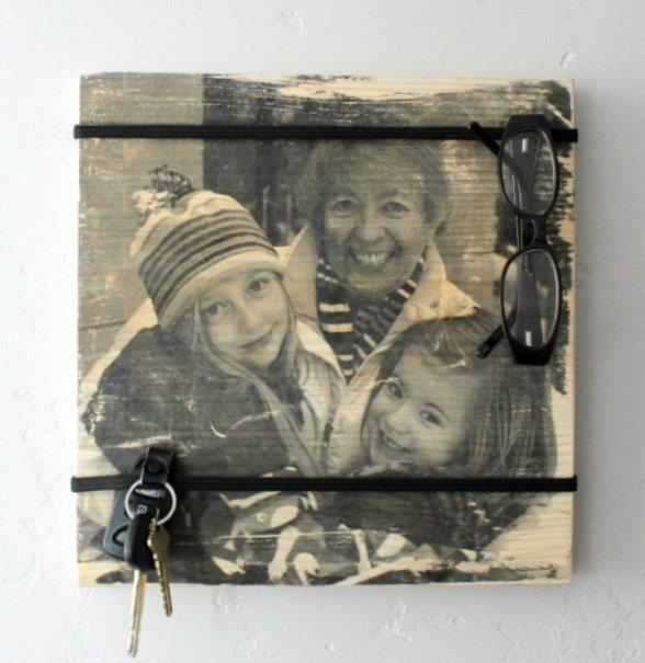 $5 organizer board with photo