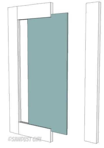 How To Build Cabinet Doors Sawdust Girl