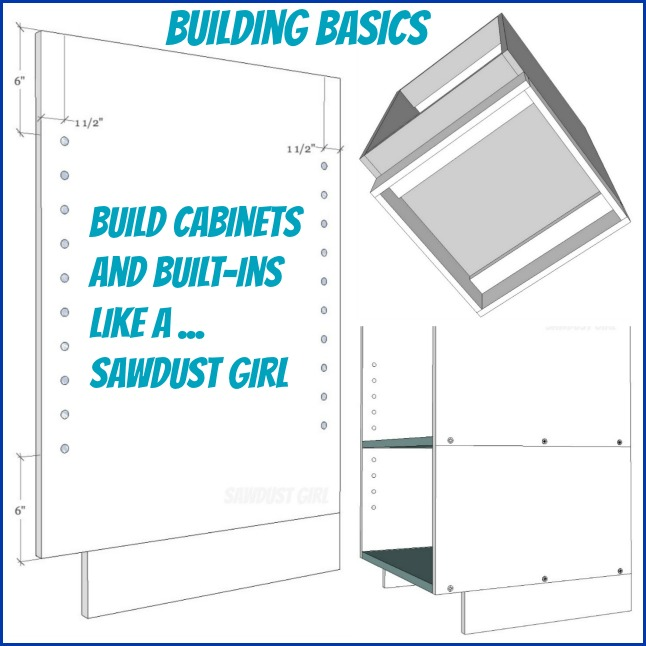 Build Kitchen Cabinets: Cabinet And Built-in Building Basics