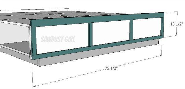 footboard frame