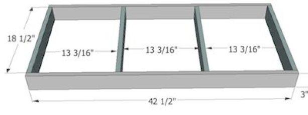 Base for Built in Bench Plans