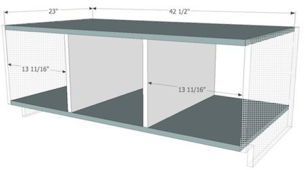 Built in Bench Plans without sides