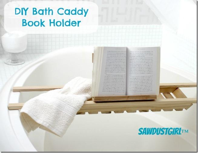 Book Holder for Bath Caddies
