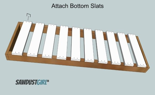 Build a tub tray