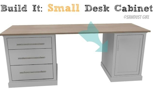 free woodworking plans for office desk
