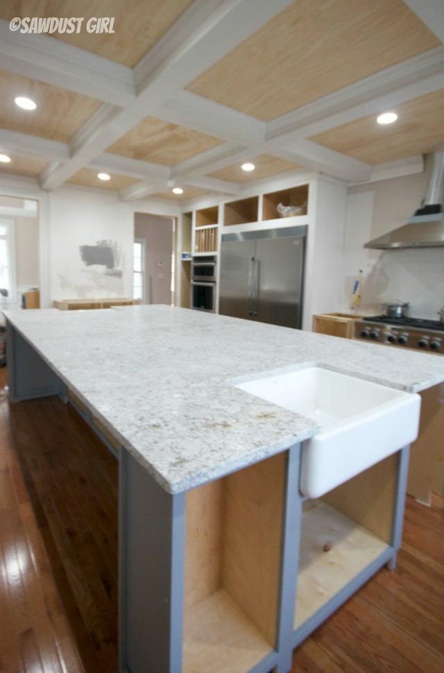 Andino white granite countertops