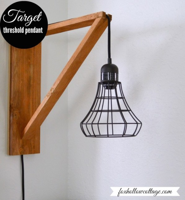 Simple pendant lamp project