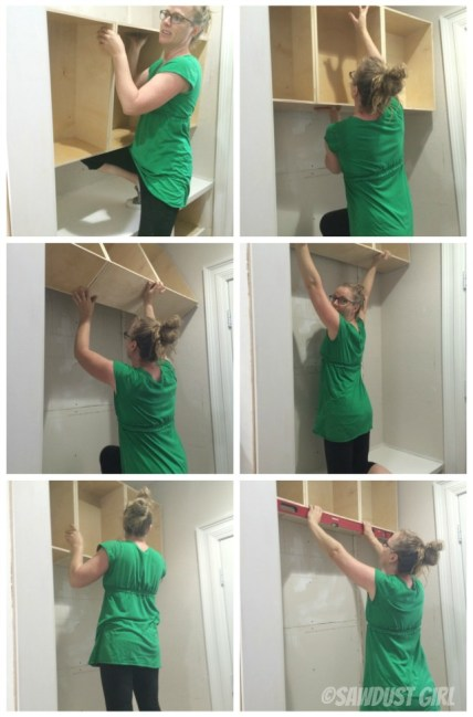 How to hang a Cabinet using a French Cleat