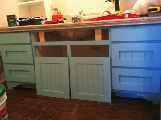 Installing doos and drawer fronts