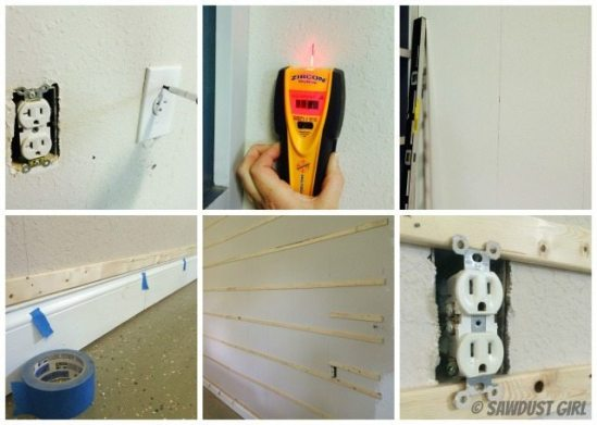 How to install a pegboard wall