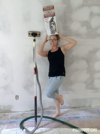 Dust free drywall sanding - fo' real!